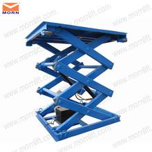 Heavy duty hydraulic scissor type lifter