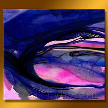Modern abstract portrait for home decoration