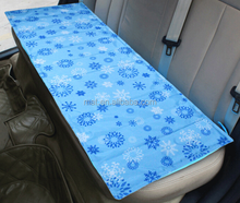 high quality pvc cushion mat reusable cooling gel bed mat cooling car mat