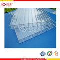 10 anos garantie creux tôle de toiture en polycarbonate prix d'usine