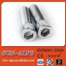 supply Titanium screw,Titanium hex socket hardware,Titanium allen cap screw