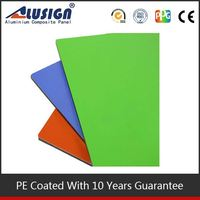 Alusign environmental decorative materials high quality acm pipe insulation cladding