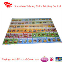 hot sale small MOQ custom board game for kids