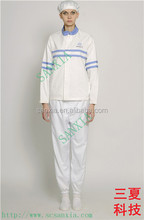 food suit/garment/overall from China supplier antistatic/ healthy and safe new product in 2015