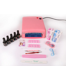 Factory Price Soak Off Nail Gel Kit Professional UV Gel Nail Polish Kits