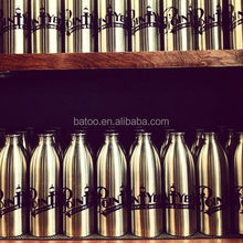 1L beer growlers bottle with logo printing