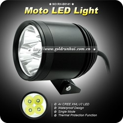 Goldrunhui RH-B0141 High quality 30w 3600lm 4*u2 waterproof led lights motorcycle