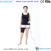12V and 3 in 1 far IR heating wrap for hot therapy / thigh and calf pad