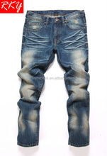 2014 Monkey Wash Brand Men Jeans Pant New Pu Embroidery Back Pocket R1644