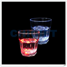 Promotion LED Lighted Glass with CE,RoHS