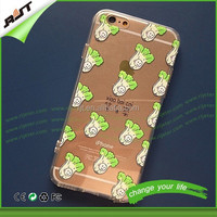 For iphone 5 5s 6 tpu case high quality OEM custom printing phone case soft tpu cell phone case for iphone