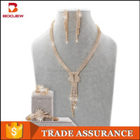 fashionable design jewelry sets plated gold vintage indian bridal jewelry sets for women