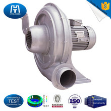 Belt drive high temperature industrial centrifugal fan