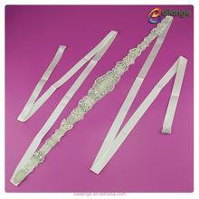 2015 Guangzhou wholesale fashion crystal bead trim bridal decorative