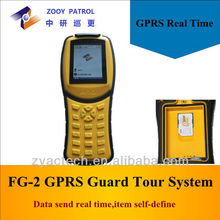 RFID GPRS Handheld Guard Patrol/Guard Tour System for Factory