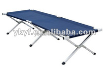 Portable folding Camp army bed