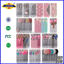 2014 most amazing design cell phone case for iPhone 6,dimond wallet case for iphone 6 Laudtec
