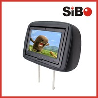 good quality 9 inch taxi headrest advertising monitor with sd usb bluetooth