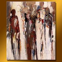 Immagini decorative pittura ad olio umano Nuovo arrivo su tela