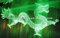 2015 city 3D dragon chandelier, crystal light