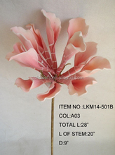 wholesales artificial foam flowers for home decorations