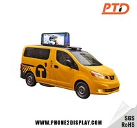 Video taxi top signanimation taxi top sign,taxi advertising signs