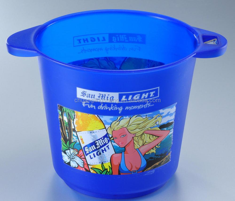plastic ice bucket with bottle opener buy plastic ice bucket with bottle opener abs ice bucket. Black Bedroom Furniture Sets. Home Design Ideas