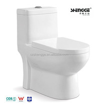 Chaozhou factory directly water saving one piece washdown toilet commode