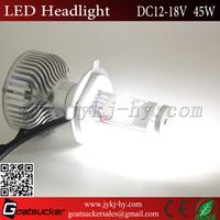 hot selling 2016 new design H4 car light bulb 60w car light car h4 led headlight bulbs