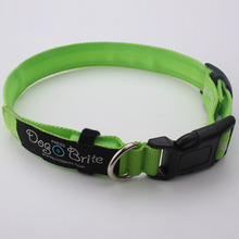 China factory produce high quality dog collar with solid color direct sale
