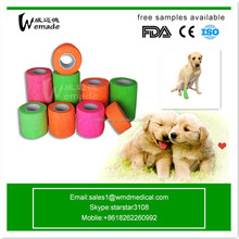 Vet Wrap Bandages Manufacturing Veterinary Wound Dressing Products Cohesive Bandage