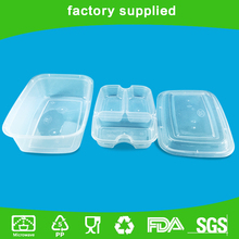 Disposable takeaway food plastic container food packaging
