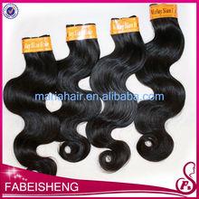 Hot selling virgin malaysian body wave human hair styles