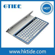Li-polymer Battery Aluminum Bluetooth Wireless Keyboard Stander For Ipad