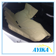Oxford 600D PVC Coated Waterproof Car Pet Seat Cover with Zipper