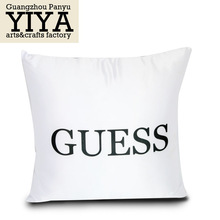 OEM Printed prined pattern satin fabric cushion