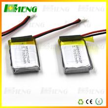 Li-polymer 302035 170mAh 3.7V Battery Manufacturer with CE,ROHS,UL certificates