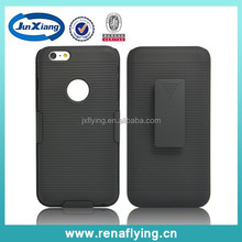 2015 China supplier belt clip with stripe pattern pc case for iPhone 6 plus alibaba China