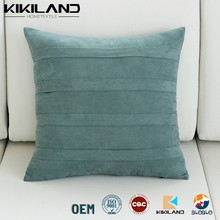 home decorative cushion covers wholesale faux suede seat cushion covers