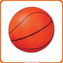 China supplier provide polyurethane(PU) foam basketball/PU basketball for decoration/promotional foam basketball