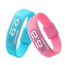alibaba express 2015 lovely design silicone unisex digital watch touch led bracelet watches sport led watch silicone