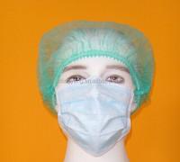 Polypropylene nonwoven fabric paper surgical cap,disposable cap