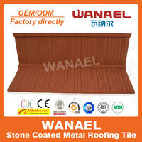 Shake high quality colorful sand coated concrete roof tile price,lightweight roof materials