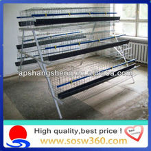 Cheap galvanized quail breeding cages/chicken cages