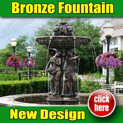 Hot sale Popular Design Fountain Garden in bronze