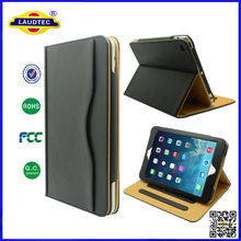 TAN Leather Stand Smart Magnetic Leather Case Cover for iPad Mini