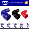 blue silicone tubing/auto radiator hoses/90 degree elbow coupler