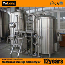 800Liters/batch stainless steel beer brewery machine with 3 years guarantee