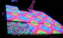led dance floor panels/led stage lighting dancing floor/disco light led club light