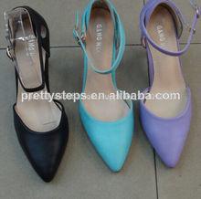 pasos bastante para mujer zapatos de vestir 2014 dama nuevo diseño de zapatos de noche